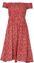 Izabel London Floral Bardot Dress