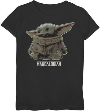 Star Wars Girls 7-16 Mandalorian Bounty Graphic Tee