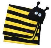 Sozo Baby-Boys Newborn Beehave Swaddle Blanket and Cap Set, Black/