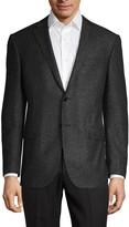 Corneliani Classic-Fit Wool & Silk Donegal Tweed Suit Jacket