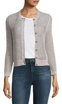 Theory Tamvi Cotton & Linen Cardigan