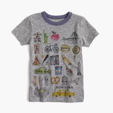 "J.Crew Boys' ""New York"" destination art T-shirt in the softest jersey"