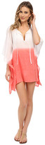 Echo Ombre Kangaroo Poncho Cover-Up