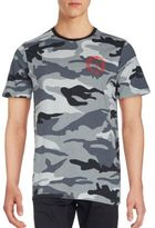 True Religion Camo Discharge Cotton T-Shirt