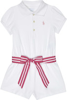 Polo Ralph Lauren cotton romper 3-24 months