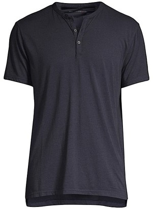 John Varvatos Three-Button Tee