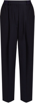 Acne Studios Milica cropped crepe trousers