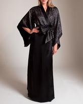 Carine Gilson Jacquard Passerin Lurex Kimono