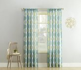 No. 918 Callie Paisley Heathered Print Curtain Panel, 40 by 84-Inch