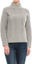 Tahari Cable-Knit Sweater - Lambswool Blend (For Women)