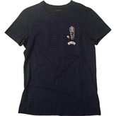 Louis Vuitton Blue Cotton T-shirt
