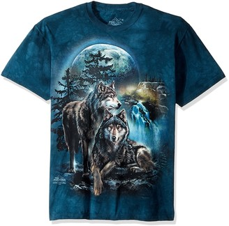 The Mountain Wolf Lookout Adult T-Shirt