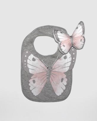 Mister Fly Butterfly Bib & Rattle Bundle