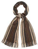 Mantaray Brown Striped Scarf