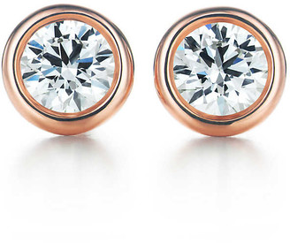 Tiffany & Co. Elsa Peretti Diamonds by the Yard earrings in 18k rose gold