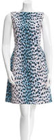 Christian Dior Sleeveless Cheetah Print Dress w/ Tags