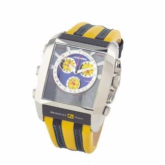 Chronotech Men's Analogue Quartz Watch with Leather Strap CT7868M/05