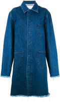 Marques Almeida Marques'almeida long boxy denim coat
