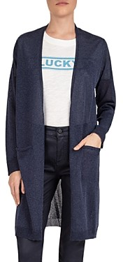 Gerard Darel Open-Front Long Cardigan Sweater