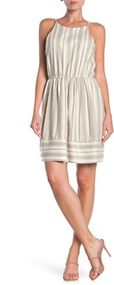 Love...Ady Striped Scoop Neck Dress