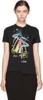 Stella McCartney Black Asymmetric T-shirt