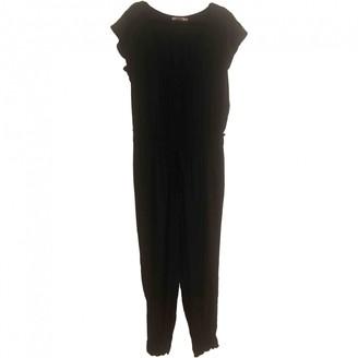 Calypso St. Barth Black Silk Jumpsuit for Women