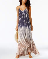 Raviya Ombrandeacute; Tie-Dyed Maxi Cover-Up