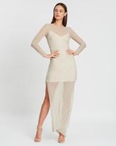 SIR the Label Millie Long Sleeve Dress