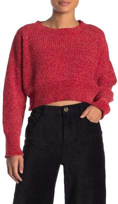 Double Zero Chenille Round Neck Sweater