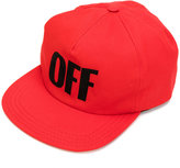 Off-White big off cap - women - Cotton - One Size