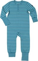 Polarn O. Pyret Baby Striped Onesie Pyjamas