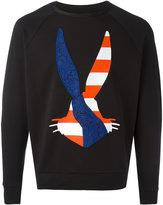 Iceberg appliqué bunny sweatshirt - men - Cotton/Spandex/Elastane - L
