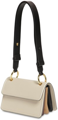 Marni SMALL BEAT LEATHER SHOULDER BAG