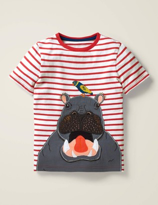 Wild Animal Applique T-Shirt