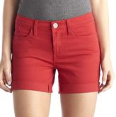 Rock & Republic Women's Bumpershoot Cuffed Jean Shorts