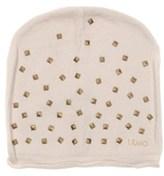 Liu Jo Women's Beige Acrylic Hat.