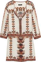 Isabel Marant Sandrine printed modal mini dress