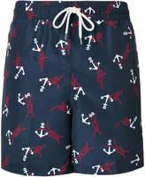 Polo Ralph Lauren nautical motif swimming shorts