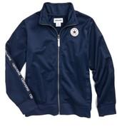 Converse Boy's Logo Warm-Up Jacket