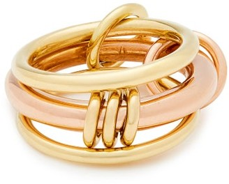 Spinelli Kilcollin Gemini 18kt Gold And Rose-gold Ring - Gold