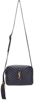 Saint Laurent Grey Lou Camera Bag