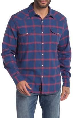 Lucky Brand Santa Fe Western Plaid Regular Fit Shirt