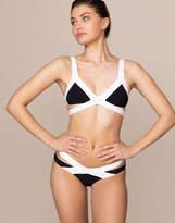 Agent Provocateur Mazzy Bikini Bottom Black And White