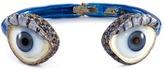Delfina Delettrez 'Eyes' sapphire silver enamelled cuff