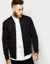 Ymc Sweat Bomber Jacket - Black