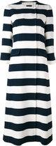 Dolce & Gabbana striped coat