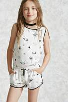 Forever 21 FOREVER 21+ Girls Balloon Print Shorts (Kids)