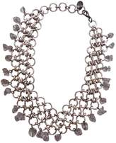 Paco Rabanne Silver Metal Necklace
