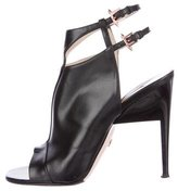 Ruthie Davis Leather Cutout Booties