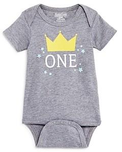 Sara Kety Boys' One-Year Crown Bodysuit, Baby - 100% Exclusive